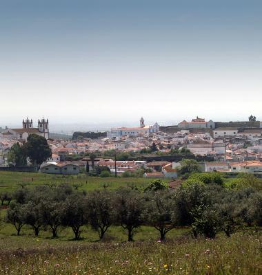 Vista Norte de Campo Maior