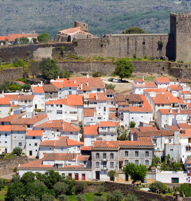 Vista de Castelo de Vide