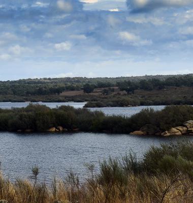 Chegada à Barragem de Nisa pelo Sul