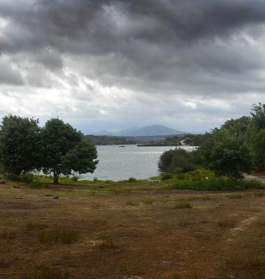 Nas margens da Barragem de Nisa