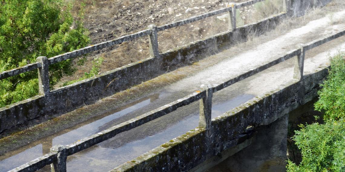 Ponte a montante da Barragem de Nisa