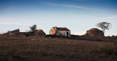 Um monte em ruinas…