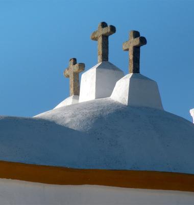 Pormenor de igreja em Barbacena