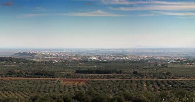 Vista de Elvas a partir de S. Lourenço