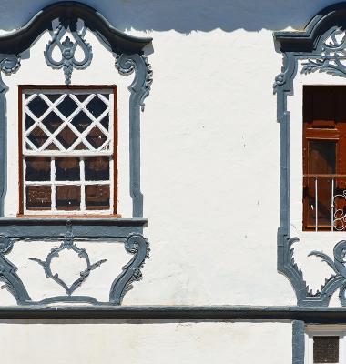Assumar (janelas de uma fachada)