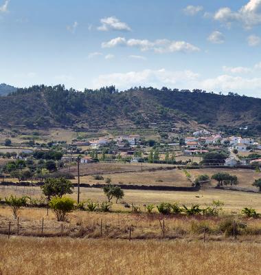 Panorâmica perto de Arneiro