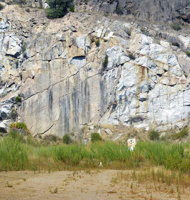 Afloramento rochoso