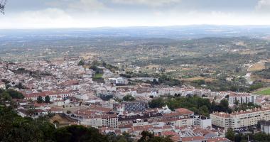 Panorâmica sobre Portalegre