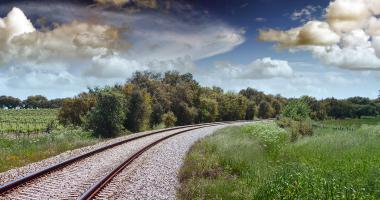 Caminho de Ferro entre Assumar e Urra
