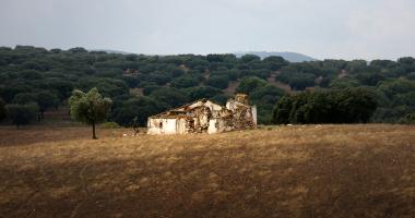 Monte em ruínas